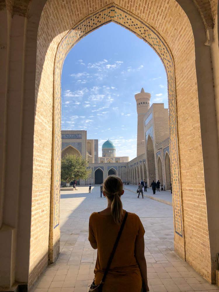 Image: Po-i-Kalyan complex in Bukhara, Uzbekistan
