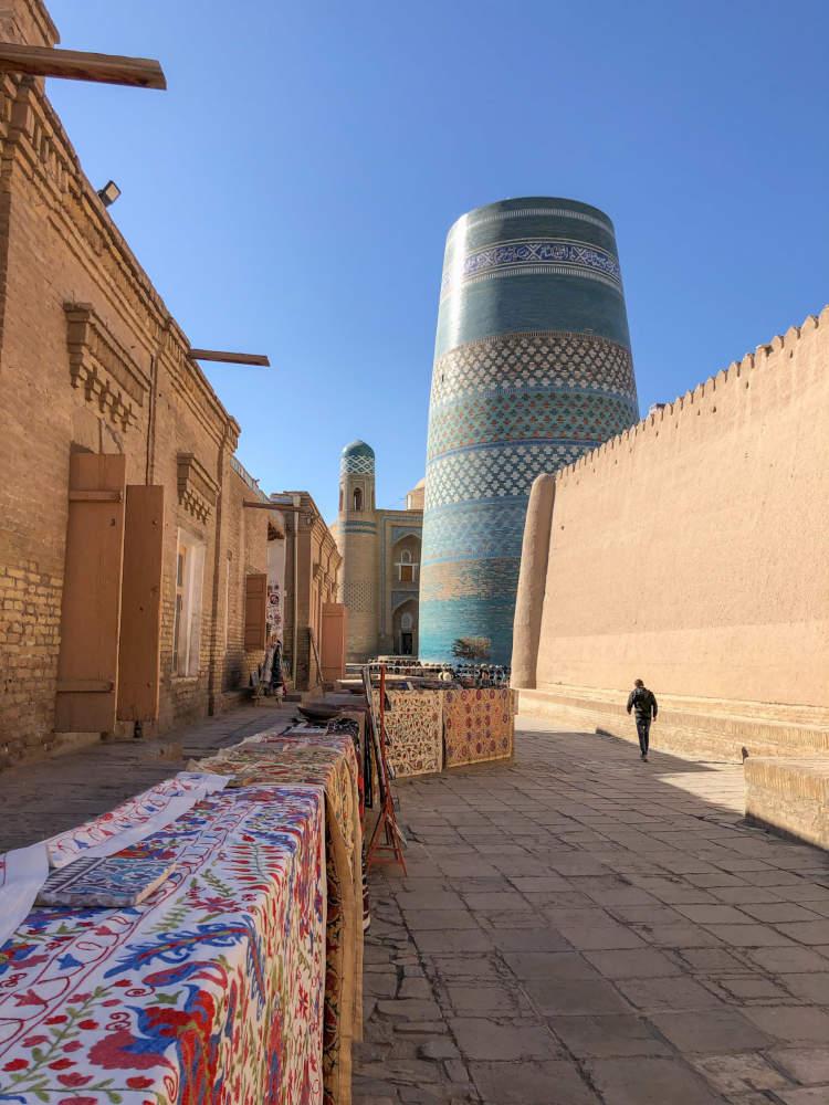 Image: Kalta minor minaret in Khiva, Uzbekistan