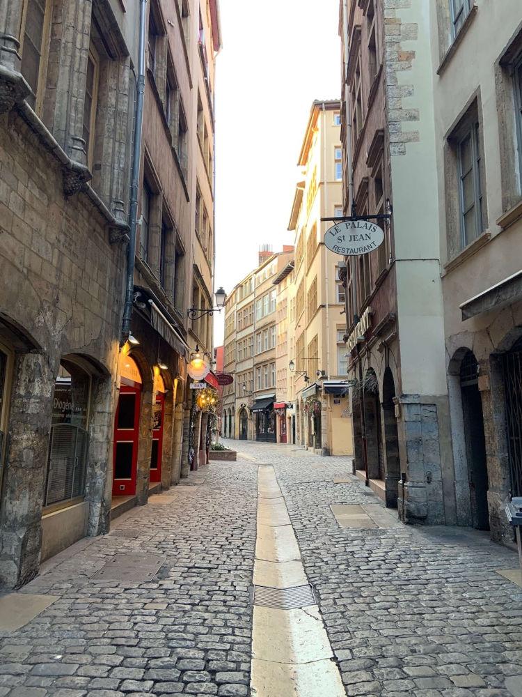 Image: Streets of Vieux Lyon