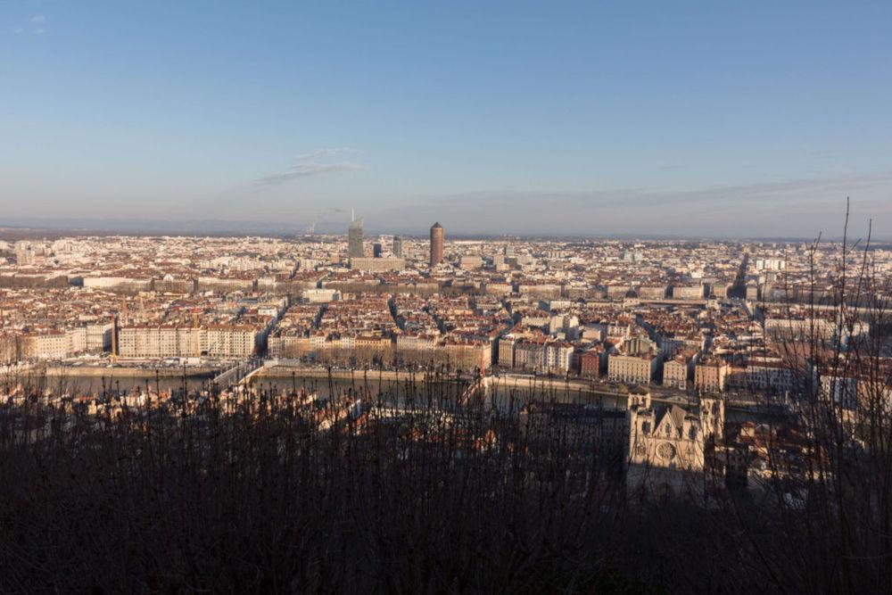 Image: View from La Basilique Notre Dame in Lyon