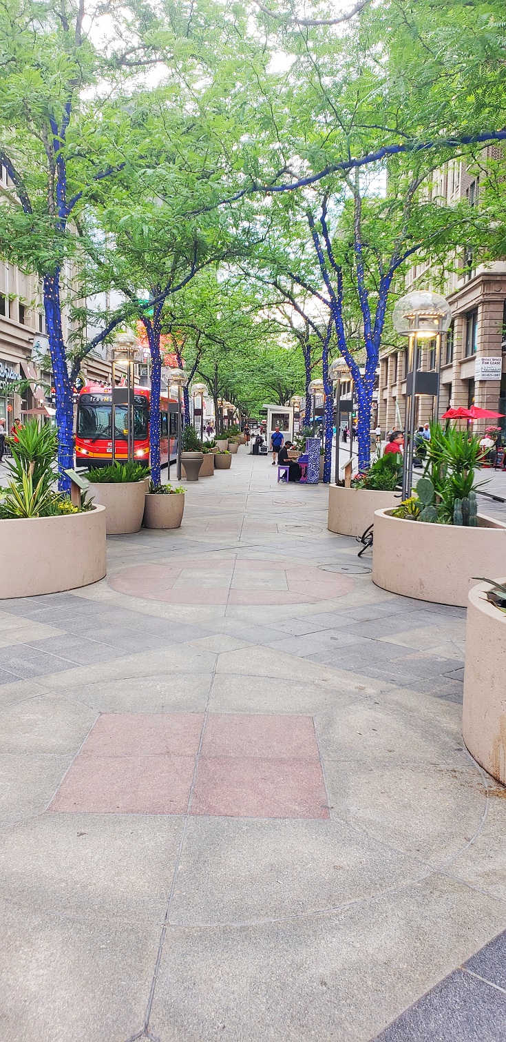 Image: 16th street mall in Denver