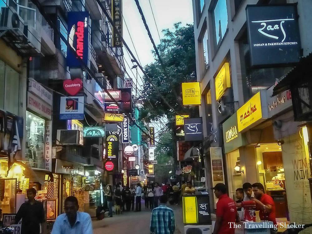 Image: Hauz Khas Village in Delhi