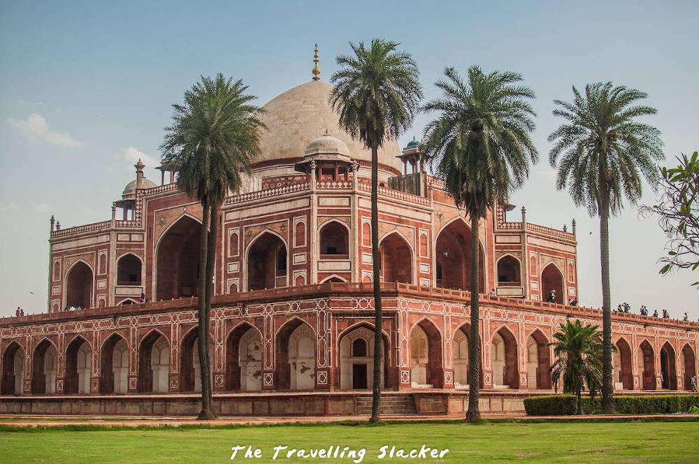 Image: Humayun's Tomb in Delhi