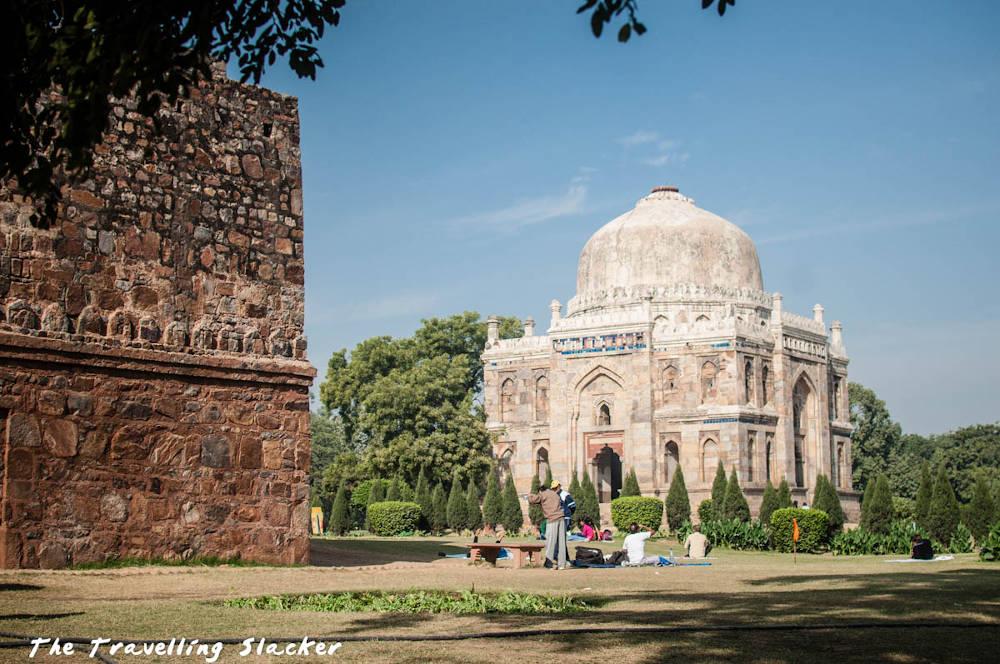 Image: Lodhi Garden in Delhi