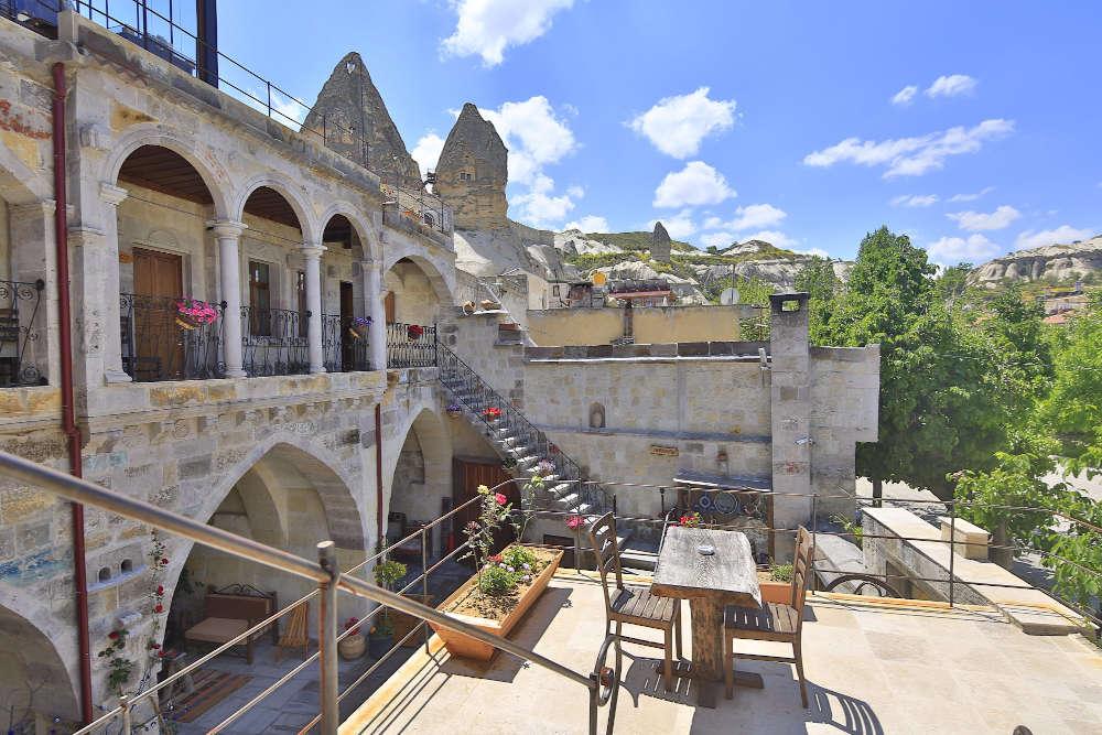 Image: Aren Cave Hotel in Cappadocia, Turkey