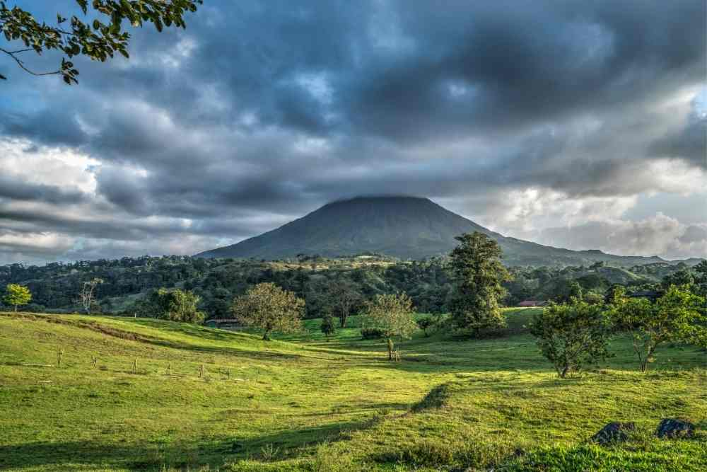 Image: Arenal Volcano in Costa Rica