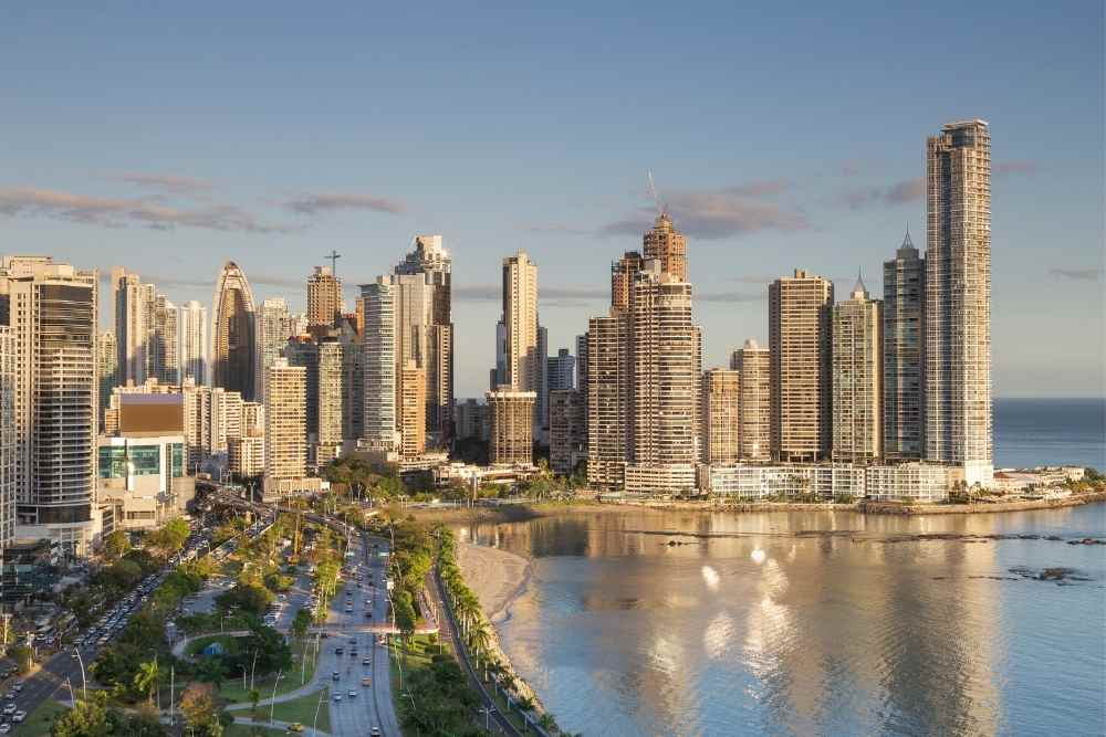Image: Panama City in Central America