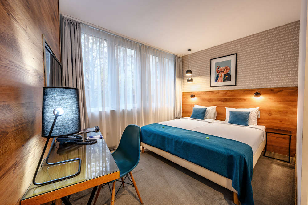 Image: Roombach budget hotel in Budapest