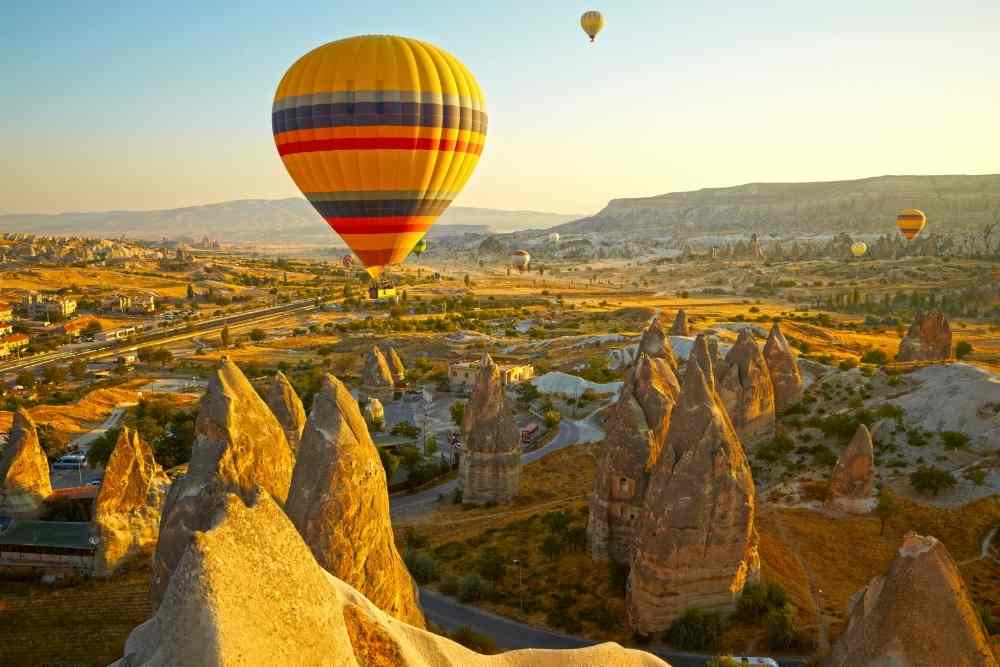 Image: Cappadocia included in the best tours to Turkey