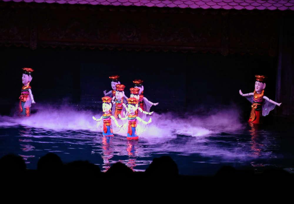 Image: Hanoi water puppet show