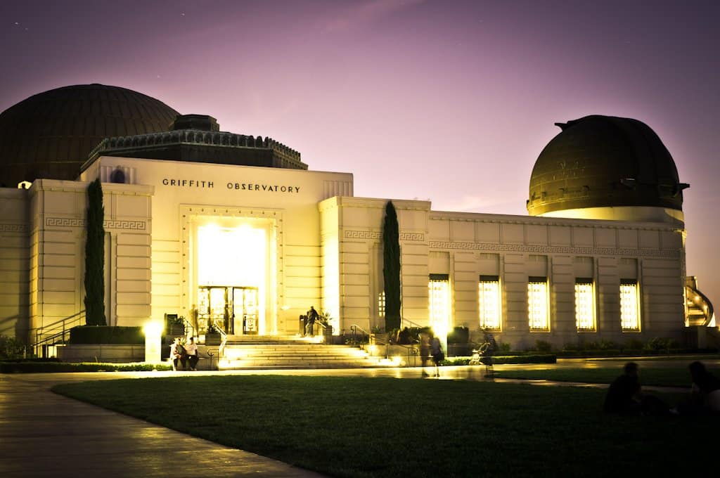 Image: Griffith Observatory in LA to visit in 10 days in California