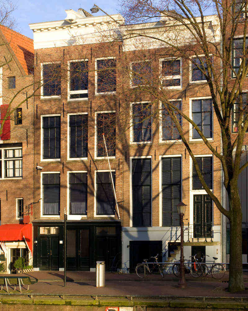 Image: House of Anne Frank to see in a trip to Amsterdam