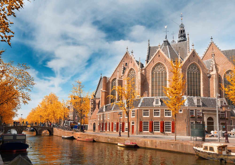 Image: Oude Kerk in Amsterdam
