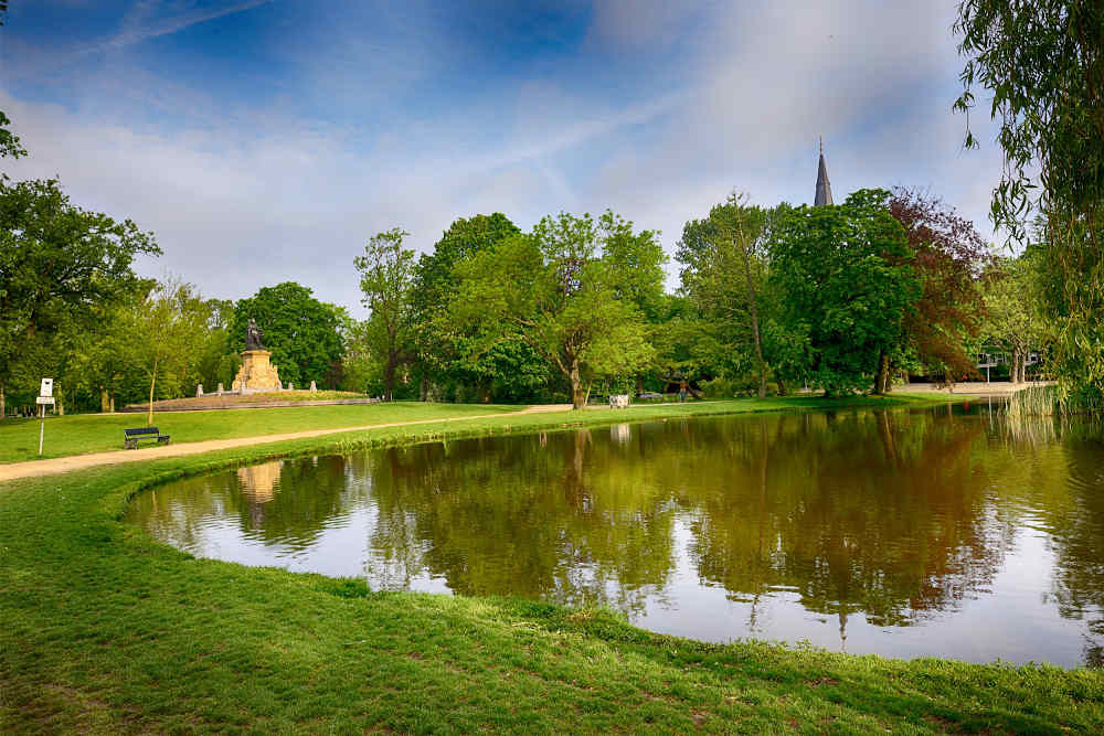 Image: View of Vondelpark to include in a 3-day Amsterdam itinerary