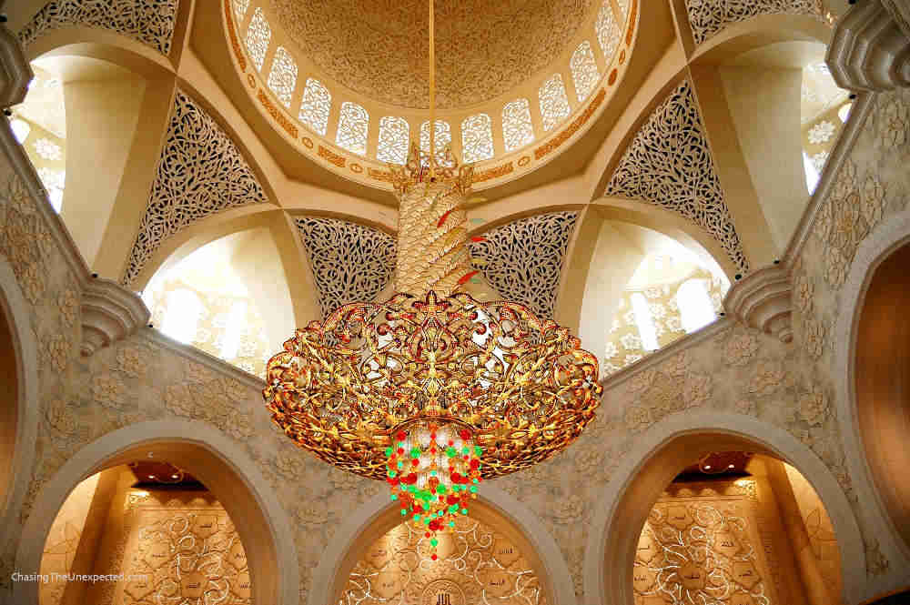 Image: Chandelier of Sheikh Zayed Grand Mosque in Abu Dhabi