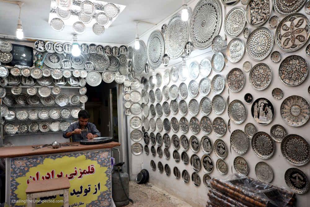 Image: Workshop at Isfahan Bazaar