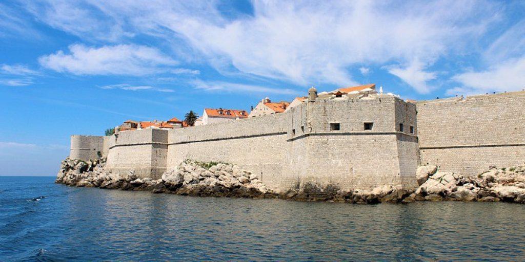 Image of Dubrovnik city walls