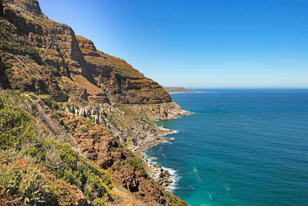 Image: Chapman's Peak Drive in Cape Town in 2 days