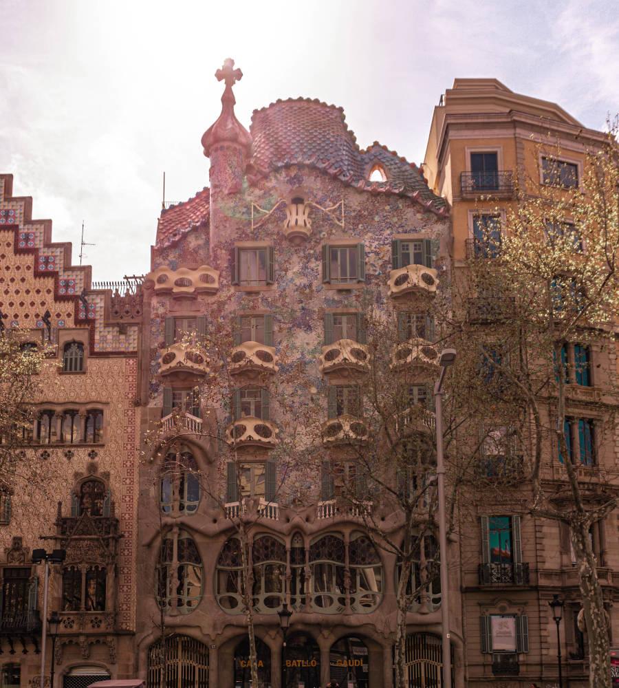 Image: Casa Batllo in Barcelona