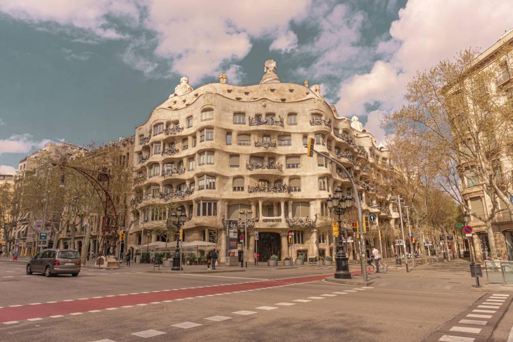 Image: Casa Mila in Barcelona