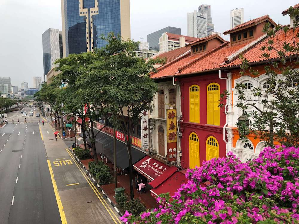Image: Chinatown in Singapore