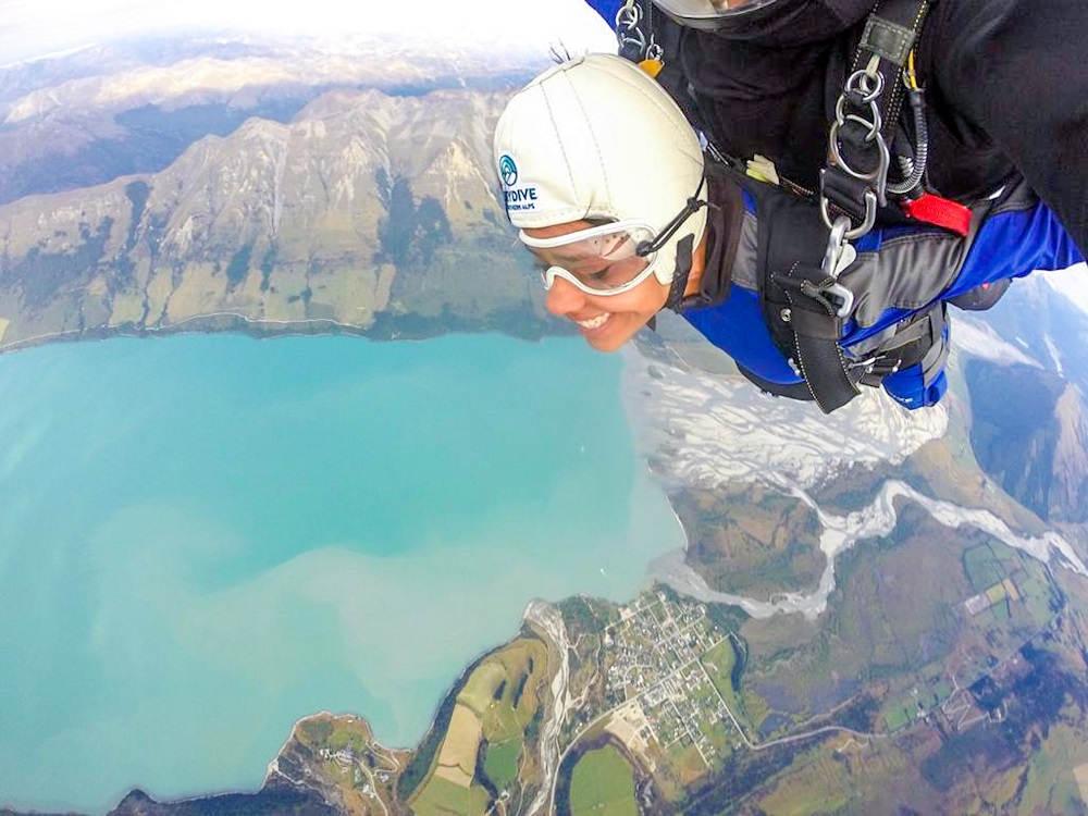 Image: Glenorchy skydive in Queenstown, New Zealand