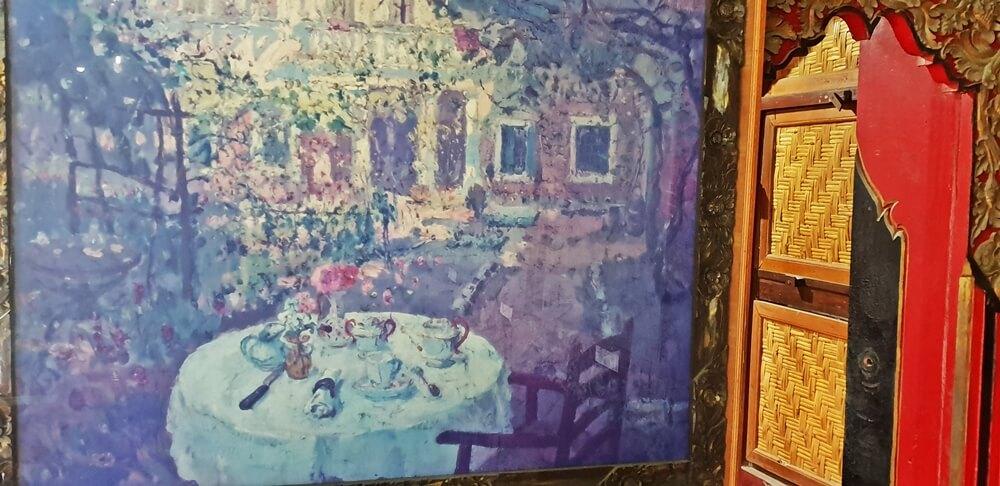 Image: Painting inside Le Mayeur Museum in Sanur