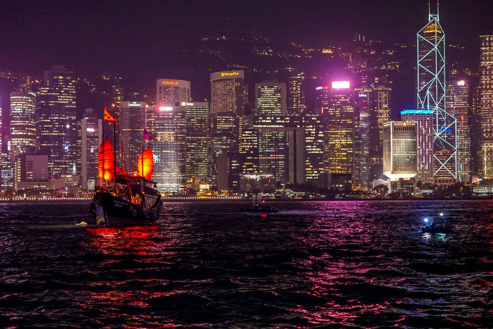 Image: Victoria Harbor in Hong Kong