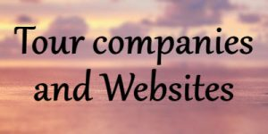 Tour companies and websites