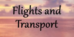 flights and transport
