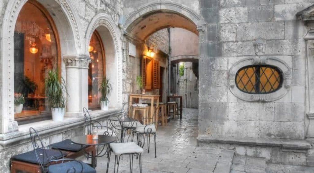 Image of Korcula island in Dubrovnik