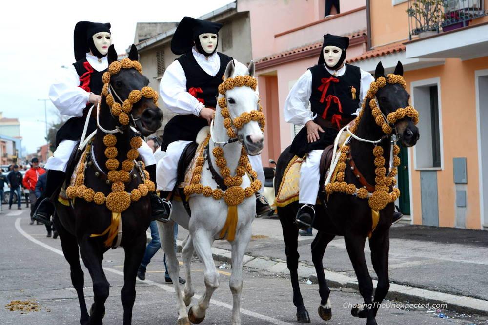 parade sartiglia oristano carnival